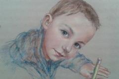 Portrait-enfant-crayon-pastel-002